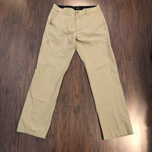 HURLEY Mens Pants Tan Size 31 (actual 32x31)